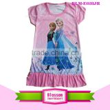 New top selling frozen Elsa and Anna kids party dresses wholesale