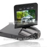 "Dash Cam Pro with flip down 2.5"" LCD screen carcam                                                                         Quality Choice"