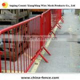 Manufacture Powder coated and galvanized Crowd Control Traffic Barricade Galvanized Portable Fence Barrier