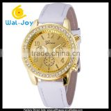 WJ-2781-2 candy colorful Geneva brand with diamonds stylish charming leather women watch