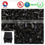 Black PC/PBT used in the Telephone casing, PC alloy compound engineering plastic pellets