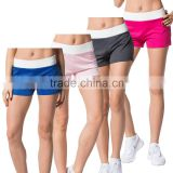 Good quality womens fitness running shorts Woman Fitness clothes Outdoor Quick-drying shorts