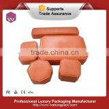 leather gift jewelry set box model,Sample making 8-12 days,accept custom