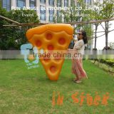 Water play equipment food pizza design pool float inflatable donut