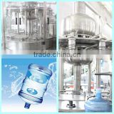 bottling equipment/mineral water plant/5 gallon water filling line/5 gallon water filler