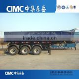 CIMC 3 Axles Rear U Shape Dumper Trailer