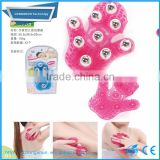 360 Degree Rotate Palm Shaped Ball Roller Body Massager