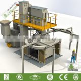 China Supplier Hottest Through The Ring Rail Type Hook Shot Blasting Rust Removal Machine