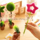 DIY creative stationery kids personalized Novelty Flowerpot heart five-pointed star shaped ball point pen promotional gifts