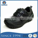OEM Welcomed Breathable Mesh Lining Black Action Shoes for Kids