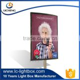 Wall Mounted Outdoor Advertising Light Box LED Illuminated Key Open Safe Outdoor Light Box Advertising Outdoor Light Box