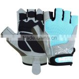 Leather Gym Weight Lifting Gloves Wrist Support Wraps Strap Men Women Gym Gloves 83, PAYPAL ACCEPTED