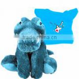 imprinted t-shirt bandana plush stuffed soft baby giraffe blanket toys custom logo embroidery beanbag mascot band bib tie ribbon