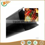 Wholesale price teflon fiberglass fabric used as BBQ GRILL MAT PROTECTER 0.25mm black baking mat