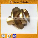 Copper cnc machining prototyping product