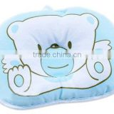 Hot sell Plush Newborn Baby Anti-roll Pillow Flat Head Sleeping Positioner Stuffed Bear cushion