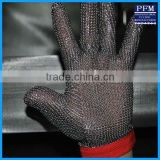 Stainless Steel Cut Resistant Gloves/Butcher Chain Mail Gloves/316L Stainless Steel Gloves