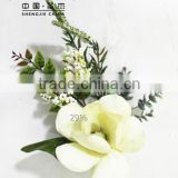 SD2016930 Event decorative magnolia silk flowers with leaves