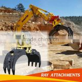High quality Long Service Life Clamshell Bucket/Excavator Grab/Grapple made in China manufactory