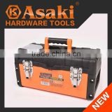 "AK-9964 high quality 14"" 17"" 19"" plastic tool box"