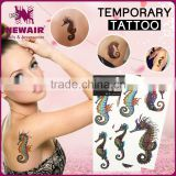 NEWAIR Hot factory design water transfer tattoo sticker gradient colorful lace temporary tattoo