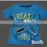 boys short sleeve cotton t-shirts kids summer tops
