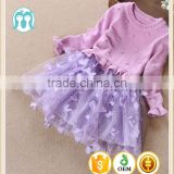 girls dress sweaters purple knitted tulle dresses children alibaba skirts and sweaters for baby girls guangzhou factory
