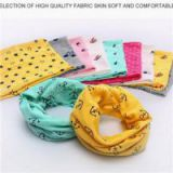 Skin Soft And Comfortable Stretch Fabric Safety Dyed Colorful Baby Boys And Girls Neck Warmer Loop Scarves