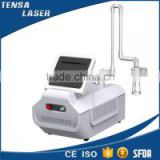 2016 distributor wanted table top portable fractional co2 laser machine with rf metal tube