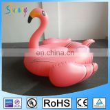 Custom 6p Eco-friendly PVC Inflatable Pool Flamingo Pool Float 190cm