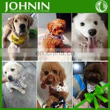 high quality customized cotton polyester printing pet dog bandana