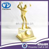 Wholesale custom metal golf trophy award statue