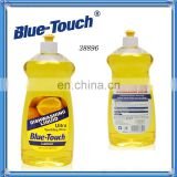 Blue-Touch High Effeiency Dish washer Liquid Detergent, Lemon Scent, 28Ounce (Pack of 12)