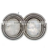 Rainbow Moonstone EARRING 925 SOLID STERLING,SILVER EXPORTER,STERLING SILVER JEWELRY,SILVER EARRING