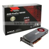 AMD FirePro W8100 8gb 512 bit ECC GDDR5 PCIe 3.0 x16 displayport 3D design graphic card packaging boxes                                                                         Quality Choice
