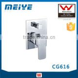 CG616 35mm Watermark Australian Standard Shower Mixer with diverter Square Style Faucet Control for Bathroom
