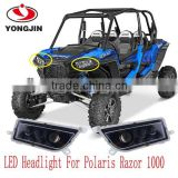 High Intensity ATV UTV Spot LED Headlight For Polaris RZR XP1K RZR 1000 RZR 900 polaris 1000 rzr