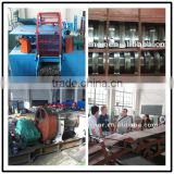 high quality waste tyre cutting machine shredder machine / waste rubber recycling machine