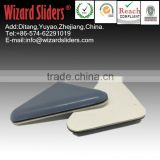 Triangle PTFE pad/easy move large size furniture/leg sliders/easy glide/leg adhesive pads