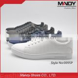 2016 wholesale new arrival fashion athletic skate board pu leather casual shoe                                                                                                         Supplier's Choice