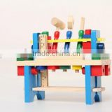 Wooden working bench toys for kids