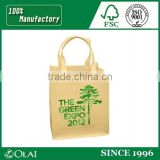 Recycle heat seal die cut non woven ultrasonic bag