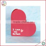 High Quality Heart Shape Greeting Card