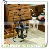 Classical Loving Couples Metal Candlestick Wrought Iron Furnishing Articles Candle Holder
