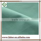 polyester cotton blend fabric for TC 3 / 1 twill single yarn drill fabric