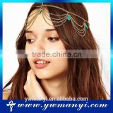 Factory wholesale jewelry head chain rhinestone hair accessories for women H0051                                                                         Quality Choice
