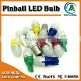 2016 newest no flicker pinball LED with milk white cap AC/DC 6.3V #44 #47 #555                                                                         Quality Choice