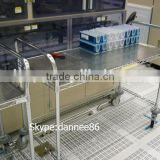 Moviable ESD Stainless Steel Wire Shelving