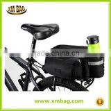 2016 China supplier multicolor bike tail waterproof bicycle bag, fitness bicycle saddle bag big storage