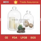 Clear bell jars replacement glass domes wholesale apothecary                                                                         Quality Choice
